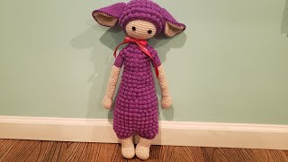 p1...Móc bupbe hạt bắp (bé cừu)..crochet Amigurumi doll