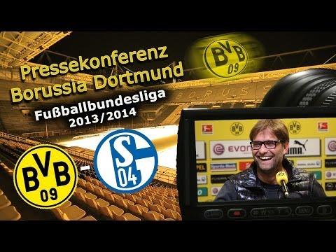 Bundesliga Pressekonferenz nach dem Revierderby : Borussia Dortmund - Schalke 04 : 0:0