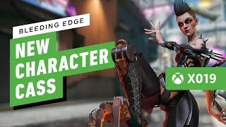 Bleeding Edge's New Character Cass is a Super-Jumping Damage Dealer - IGN Live X019