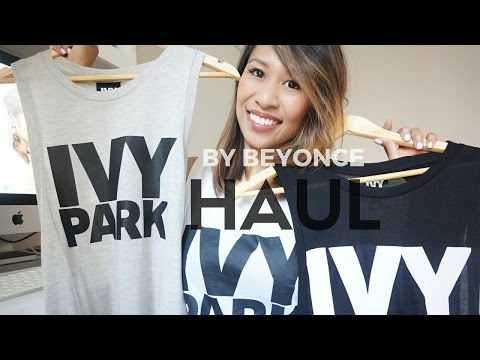BEYONCE CLOTHING LINE Ivy Park Haul + Try On | All Things Belle