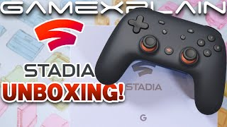 Google Stadia Founder's Edition UNBOXING + Extras!