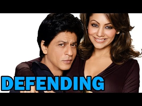 Shahrukh Khan defends his Wife Gauri Khan - EXCLUSIVE