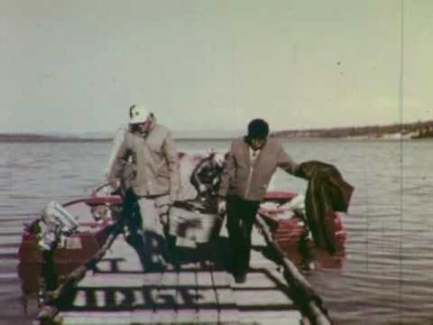 1965 Fishing Great Bear Lake Lodge Trout, Grayling & Char