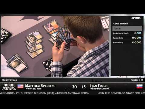 Pro Tour Magic 2015 - Quarterfinals - Matt Sperling vs. Ivan Floch