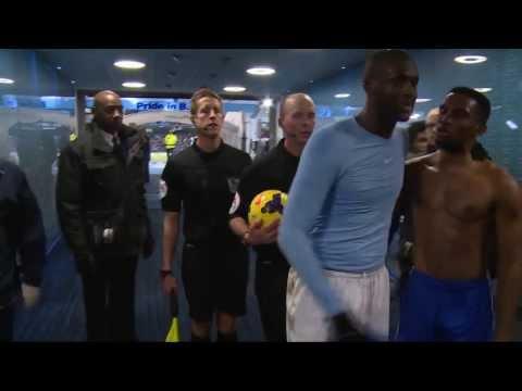 Samuel Eto'o et Yaya Touré comme des frères après Manchester City-Chelsea (0-1)