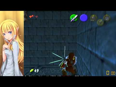 OoT: Recoil Boost in Water to Whirl Pool Room (BK Chest)