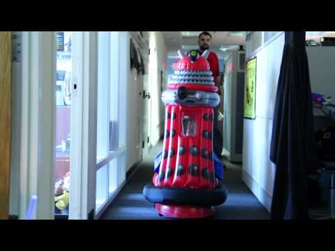 Doctor Who Ride-in Dalek from ThinkGeek