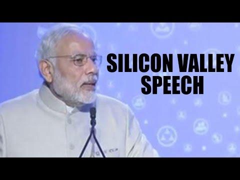 Narendra Modi at SILICON VALLEY - FULL SPEECH | Digital India Summit | Modi In USA