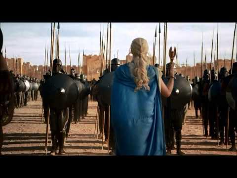 Epic Dragon Scene Game Of Thrones Season 3 Daenerys Targaryen