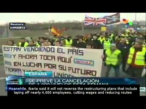 Iberia workers on second week of strike