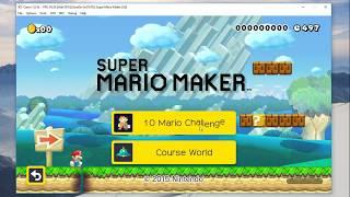 Super Mario Maker (Wii U Emulator) | Cemu 1.8.1 (Intel GPU)