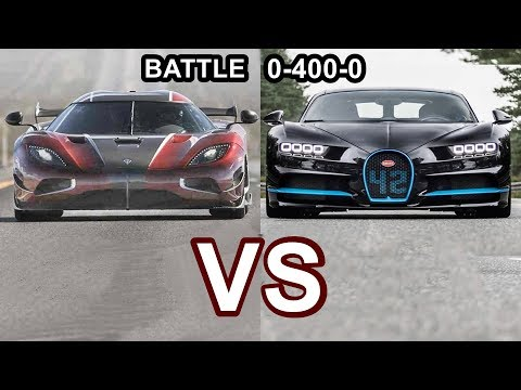 2018 Koenigsegg Agera RS VS 2018 Bugatti Chiron - World's Fastest Cars!!