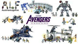 Lego Avengers Endgame - Compilation of all Sets
