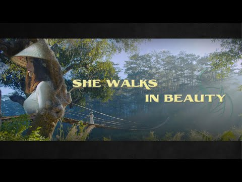 """SHE WALKS IN BEAUTY"" - Cinematic Short Film | BMPCC 6K"