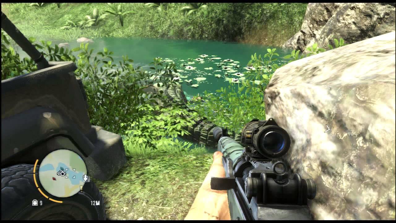 Far Cry 3 Crocodile Feeding Montage + Epic Croc Location ...