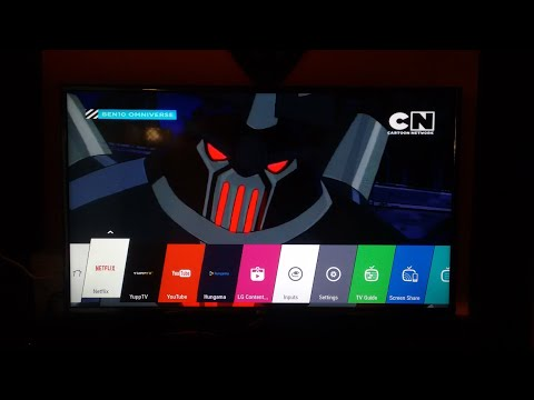 LG 32LH576D SMART TV review with screen sharing feature