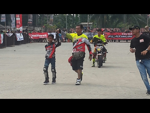 Wonder kid freestyle  motor sport 10 years old ( freestyle anak usia 10 tahun )