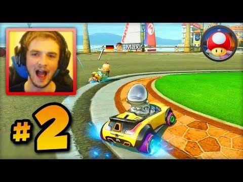 "Mario Kart 8 ONLINE multiplayer - LIVE w/ Ali-A #2 - ""ALI-A MINI RAGE!"""