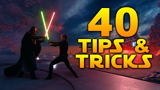 Star Wars Battlefront: 40 TIPS & TRICKS YOU SHOULD KNOW!