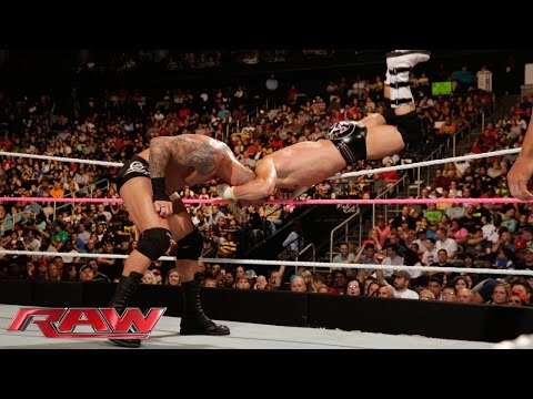 Dolph Ziggler Vs. Randy Orton: Raw, Oct. 13, 2014 video