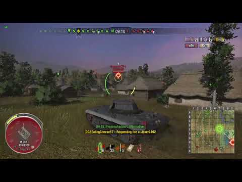 World of Tanks Xbox one Champion Panther/M10 3 Kills