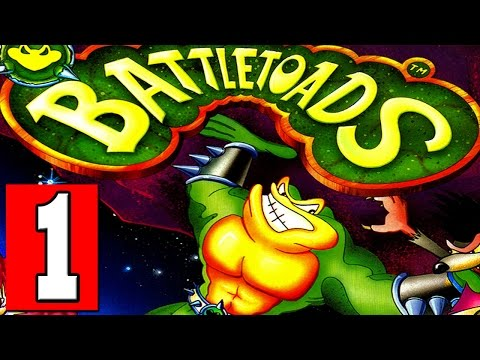 BATTLETOADS: ARCADE Walkthrough Part 1 Gameplay Lets Play Playthrough 1080p