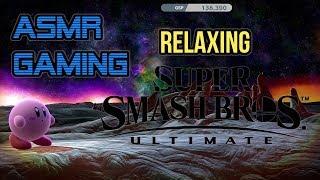 ASMR Gaming | Relaxing Super Smash Bros. Ultimate Nintendo Switch ★Controller Sounds + Whispering☆