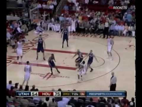 Houston Rockets vs. Utah Jazz 04/07/10 Video