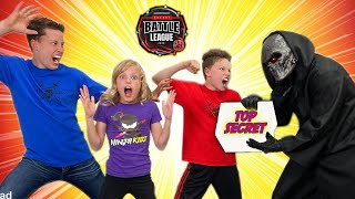 Secret Undercover Spy Mission! Ninja Kidz Bakugan Battle League!