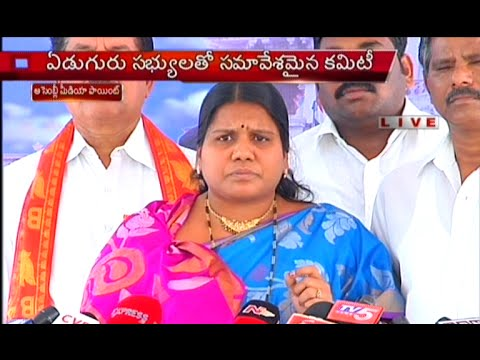 Peethala Sujatha Fires on Roja At Assembly Media Point Photo Image Pic
