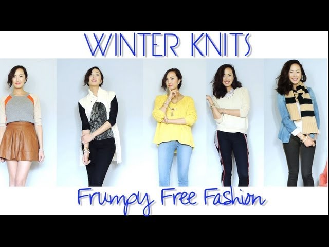 Winter Knits - Frumpy Free Fashion