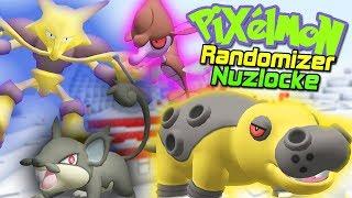 Minecraft Pixelmon Randomizer Nuzlocke - INSANE STARTER CHOICES! (Pixelmon Dark Adventure Map) #1