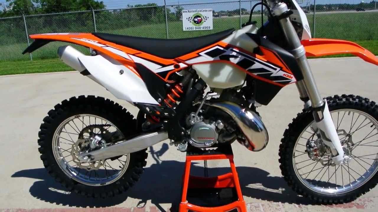 for sale 7 599 2014 ktm 200 xc w electric start 2 stroke off road motorcycle review and. Black Bedroom Furniture Sets. Home Design Ideas