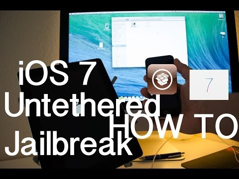 Untethered Jailbreak iOS 7.0.x (iOS 7.0 - 7.0.6) HOW TO - All Devices -Deutsch/German