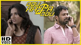 Latest Tamil Movies 2018 | Odu Raja Odu Scenes | Harini steals the briefcase | Nassar passes away