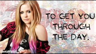 Avril Lavigne - I Will Be (Lyrics)