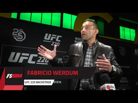 UFC 220: Fabricio Werdum interview