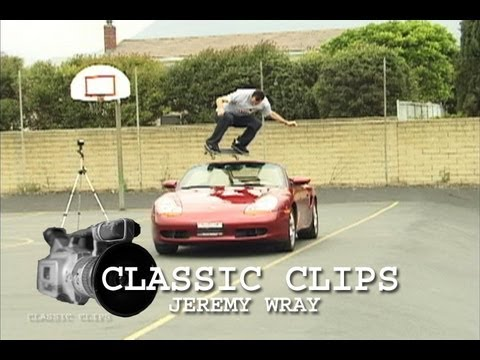 Jeremy Wray Skateboarding Classic Clips #37 Ollie One Step Beyond