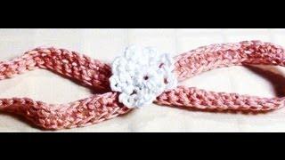 Download Crochet Baby Headband - Crochet Baby Headband with Flower 3Gp Mp4