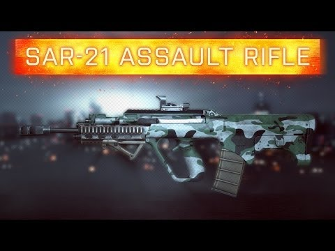 ► BF4 SAR-21 WEAPON REVIEW!   Battlefield 4
