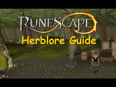Runescape Skilling Guide: 1-99 Herblore Guide [Fast and Efficient] iAm Naveed Runescape