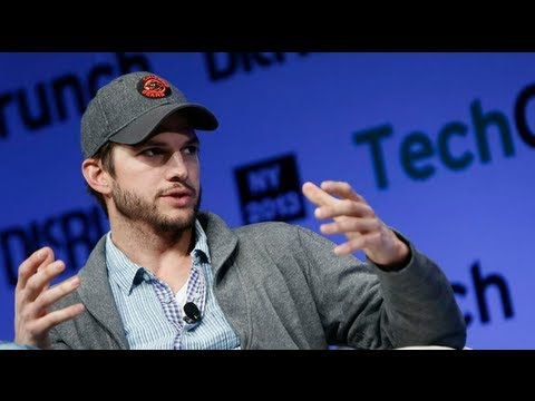 Ashton Kutcher: 'It's Not 'Pimp My Startup' | Disrupt NY 2013