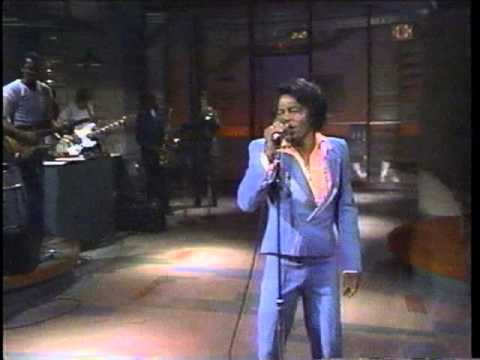 James Brown On David Letterman video