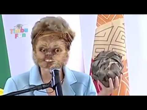 Dilma Rousseff - funk saudando a mandioca