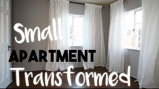 (7.67 MB) INTERIOR DESIGN: Transforming a Small Apartment Without Breaking the Bank | Our First Home! Mp3