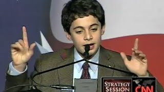 Conservative Kid Jonathan Krohn Now Liberal