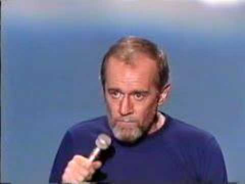 George Carlin - Flamethrowers