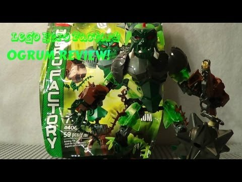 NEW! LEGO Hero Factory Brain Attack 44007 review: Ogrum