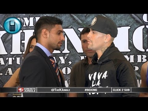Amir Khan vs Luis Collazo, teleconference call highlights