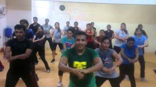 Zumba dance at The Swingers Dance Bangalore
